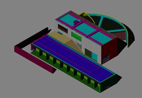 Planos de Vivienda 3d, en Obras famosas – Proyectos
