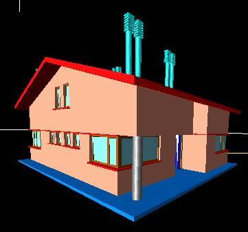 Planos de Vivienda 3d, en Vivienda unifamiliar 3d – Proyectos
