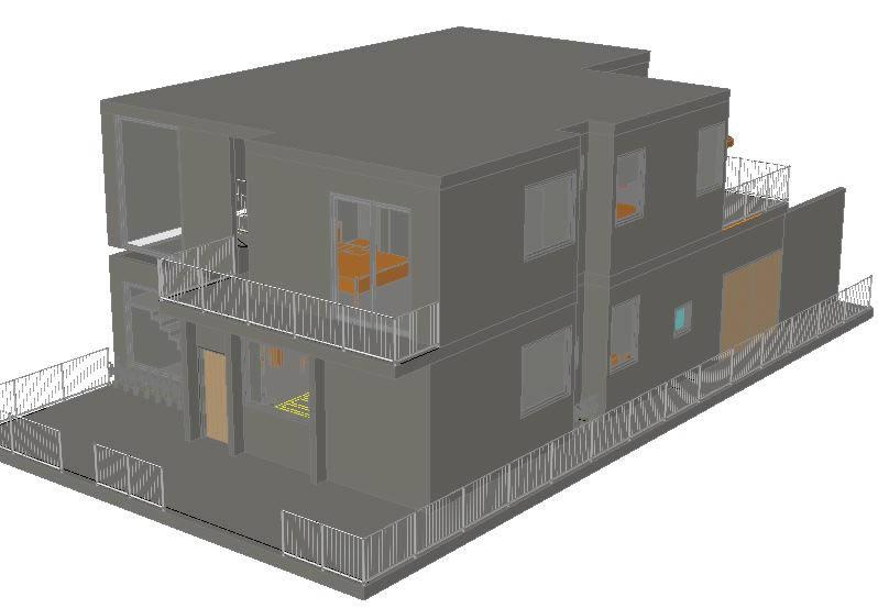 imagen Vivienda-3d, en Vivienda unifamiliar 3d - Proyectos