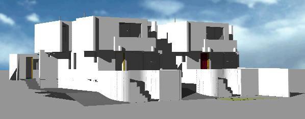 Planos de Vivienda agrupada 3d, en Vivienda multifamiliar – condominios – Proyectos