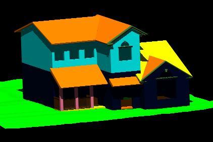 Planos de Vivienda de 2 plantas 3d, en Vivienda unifamiliar 3d – Proyectos