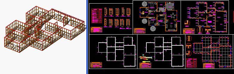 Planos de Vivienda en madera, en Madera – técnica tradicional – Sistemas constructivos
