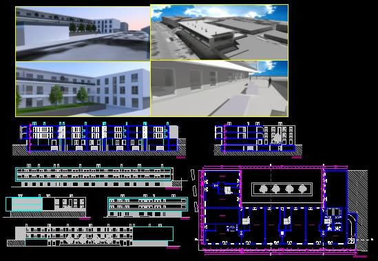 imagen Vivienda multifamiliar y comercio, en Vivienda multifamiliar - condominios - Proyectos