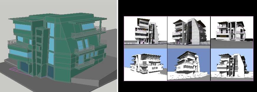 imagen Vivienda para 2 familias, en Vivienda unifamiliar 3d - Proyectos