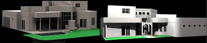 Vivienda residencial, en Vivienda unifamiliar 3d – Proyectos