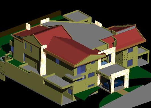 Planos de Vivienda unifamiliar 3d, en Vivienda unifamiliar 3d – Proyectos
