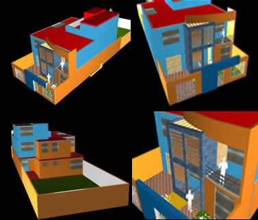 Vivienda unifamiliar en morrope, en Vivienda unifamiliar 3d – Proyectos