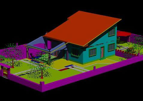 Planos de Vivienda villa montagna 3d, en Proyectos varios – Proyectos