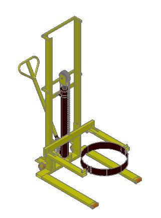 Planos de Volteador de tarros 3d, en Maquinaria para industria de la alimentación – Máquinas instalaciones