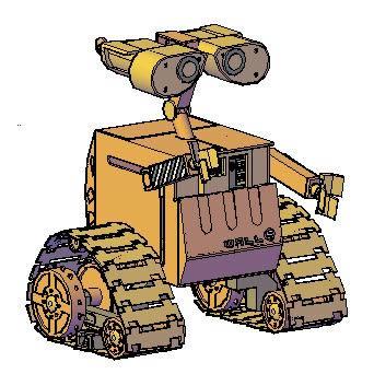 imagen Wall-e 3d, en Maquinaria - proyectos varios - Máquinas instalaciones