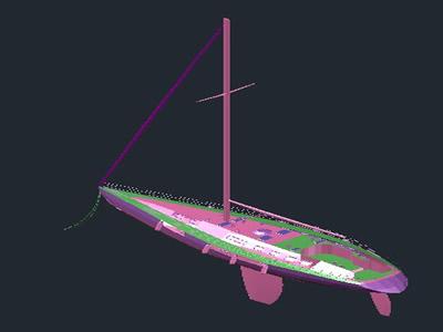 Planos de Yacht, en Embarcaciones – Medios de transporte