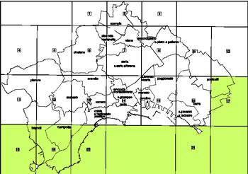 Planos de Zonificación – comuna de nápoli, en Italia – Diseño urbano